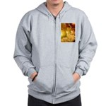 Singapore Temple Offering Lam Zip Hoodie