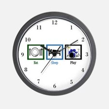 Eat Sleep Drums Wall Clock