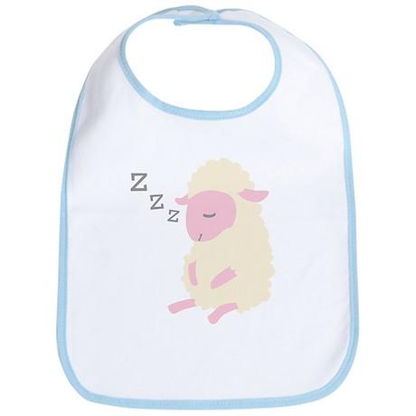 ZZZ Sleepy Sheep Bib
