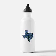 TX Bluebonnets Water Bottle