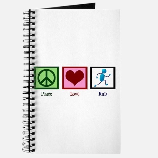 Peace Love Run Journal