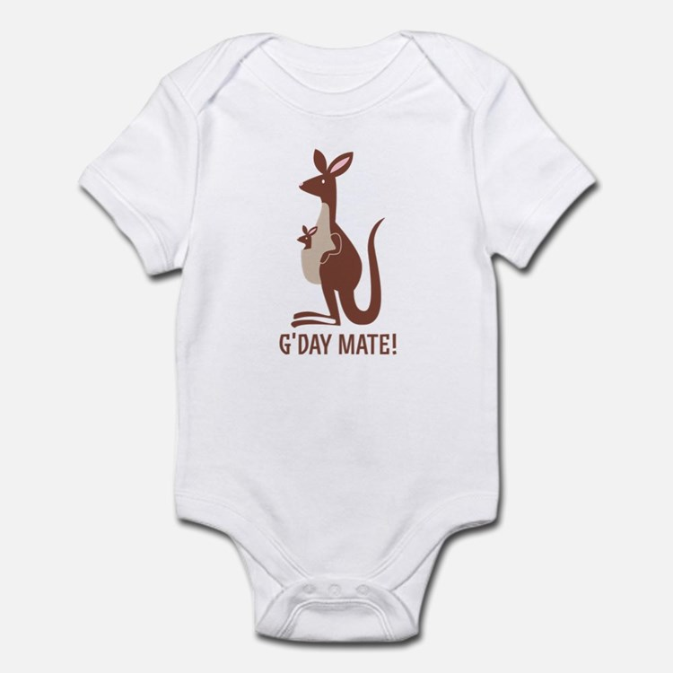 G'Day Mate Kangaroo Infant Bodysuit