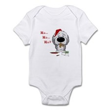 Sheepdog Santa's Cookies Infant Bodysuit