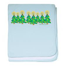 ILY Christmas Forest Infant Blanket