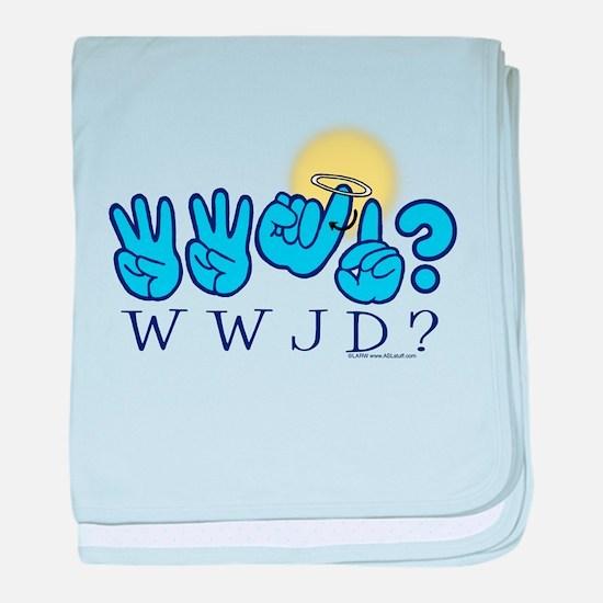 WWJD? Infant Blanket