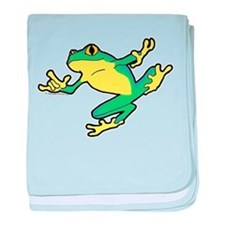 ASL Frog in Flight Infant Blanket