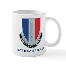 DUI - 189th Infantry Brigade with Text Mug