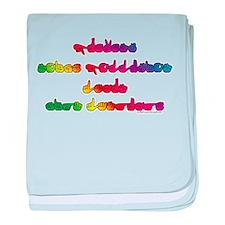 Rainbow PREVENT NOISE POLLUTI Infant Blanket