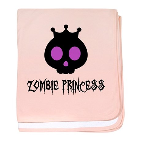 Zombie Princess Infant Blanket