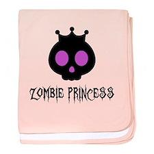 Zombie Princess Infant Blanket