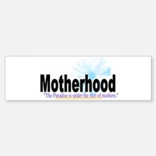 MuslimahMom Sticker (Bumper)