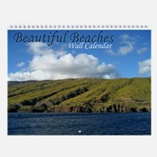 Beautiful Maui Beach Wall Calendar