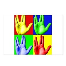 Vulcan Hand Postcards (Package of 8)