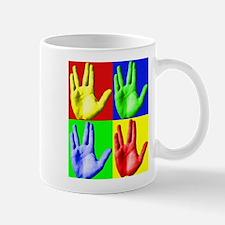 Vulcan Hand Mug