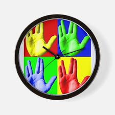 Vulcan Hand Wall Clock