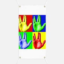 Vulcan Hand Banner