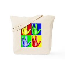 Vulcan Hand Tote Bag