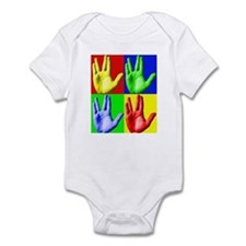 Vulcan Hand Infant Bodysuit