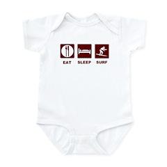 Eat Sleep Surf Infant Bodysuit