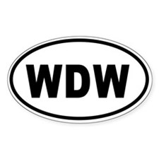 WDW Bumper copy 2 Decal