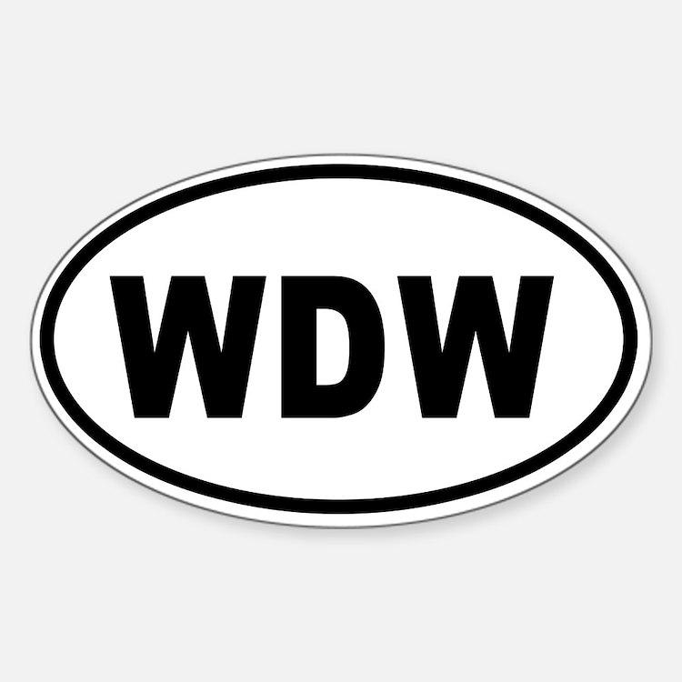 WDW Bumper copy 2 Decal
