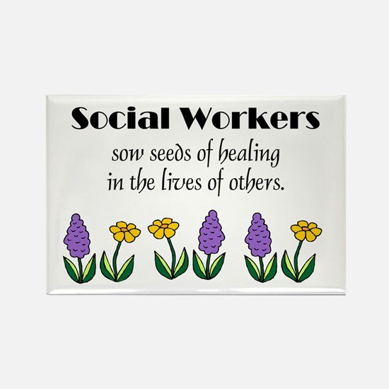 Seeds of Healing Rectangle Magnets (10 pack)