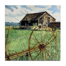 Barn & Wheel Tile Coaster