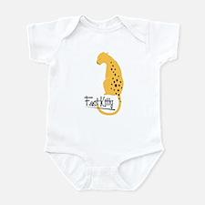 Fast Kitty Jaguar Infant Bodysuit