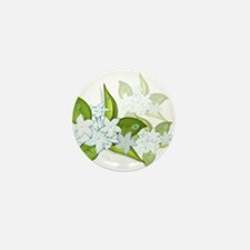 jasmine Flowers artwork Mini Button (10 pack)