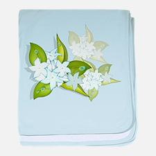 jasmine Flowers artwork Infant Blanket