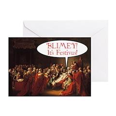 """It's Festivus!"" Greeting Cards (Pk of 1"