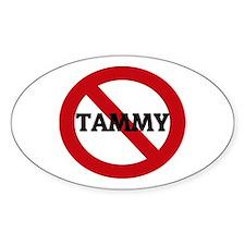 Anti-Tammy Oval Decal