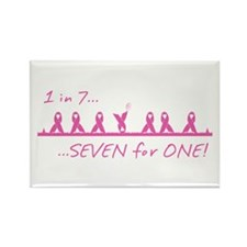 """""""SEVEN for ONE!"""" Magnet"""