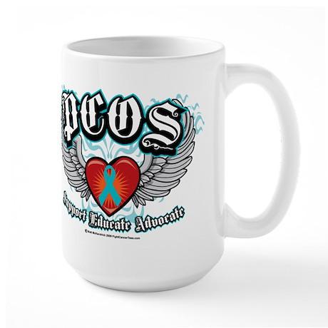 PCOS Wings Large Mug