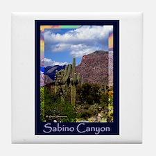 Sabino Canyon Tile Coaster