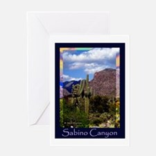 Sabino Canyon Greeting Card