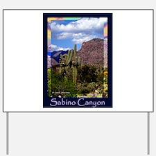 Sabino Canyon Yard Sign
