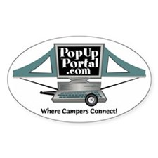 PUP Logo Oval Decal