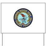 Firebird Rescue Team Yard Sign