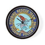 Firebird Rescue Team Wall Clock