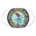 Firebird Rescue Team Sticker (Oval 10 pk)