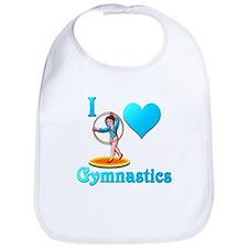 I Love Gymnastics #3 Bib