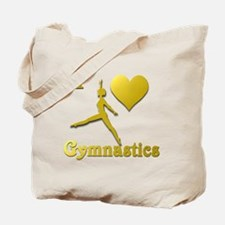 I Love Gymnastics #5 Tote Bag