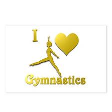 I Love Gymnastics #5 Postcards (Package of 8)