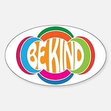 Be Kind Sticker (Oval)