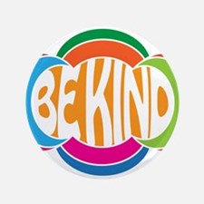 """Be Kind 3.5"""" Button (100 pack)"""