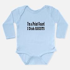 Funny Basketball sister Long Sleeve Infant Bodysuit