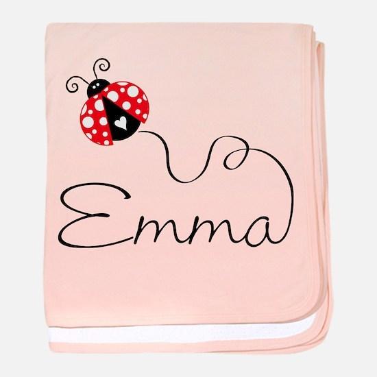 Ladybug Emma Infant Blanket