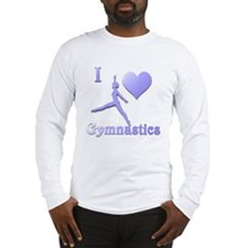 I Love Gymnastics #7 Long Sleeve T-Shirt