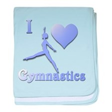 I Love Gymnastics #7 Infant Blanket